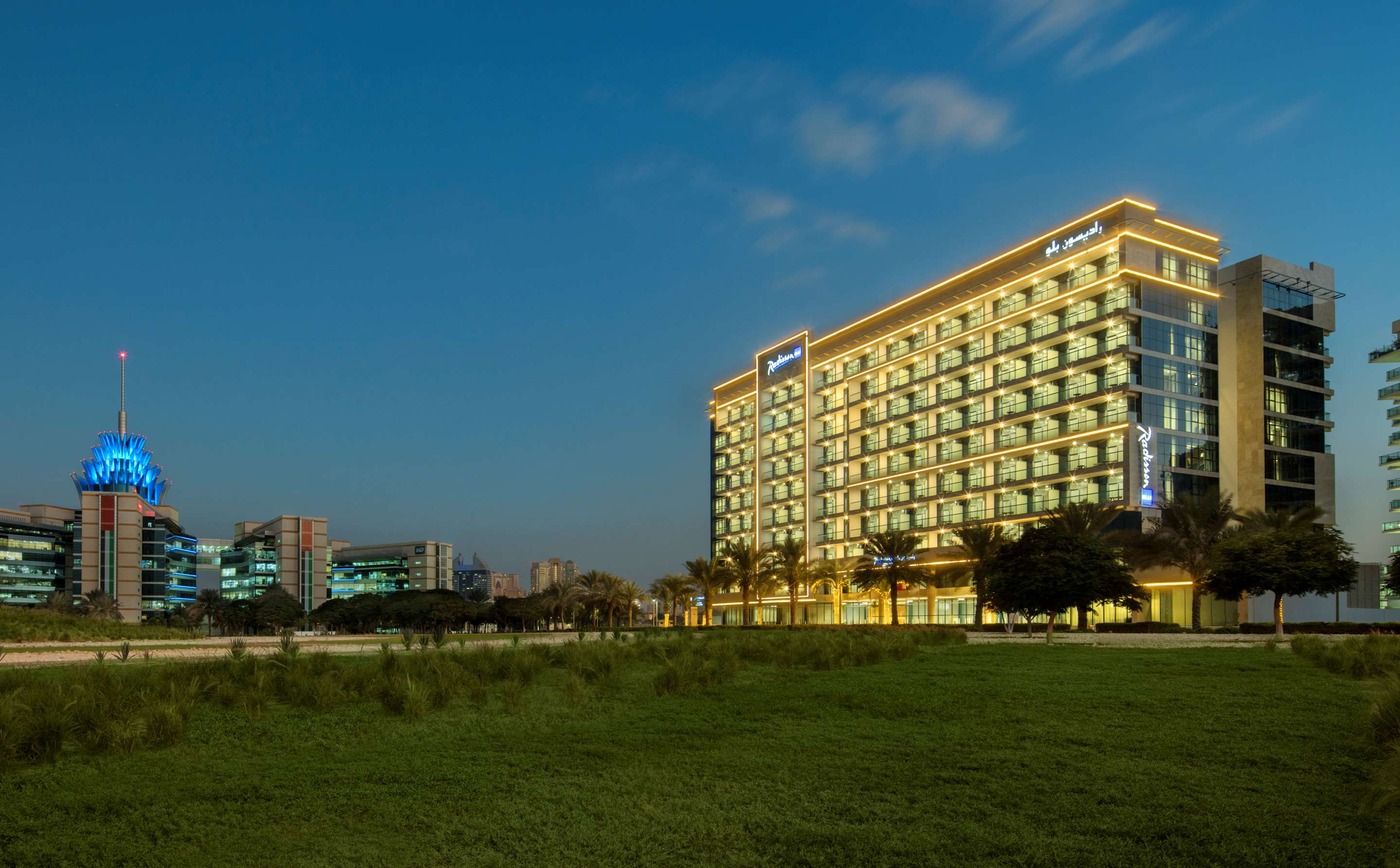 Hotel Apartments in Dubai Silicon Oasis | Radisson Blu